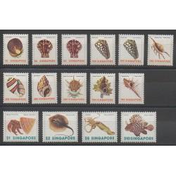 Singapore - 1977 - Nb 262/274 - 263a - 264a - Shells