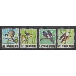 Singapour - 1978 - No 294/297 - Oiseaux