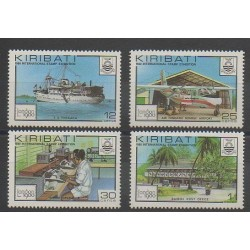 Kiribati - 1980 - Nb 28a/31a - Exhibition