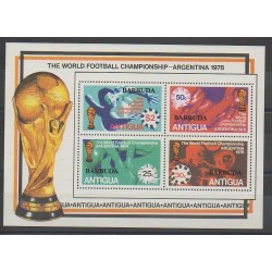 Barbuda - 1978 - No BF35 - Coupe du monde de football
