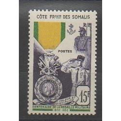 Côte des Somalis - 1952 - No 284 - Neuf avec charnière