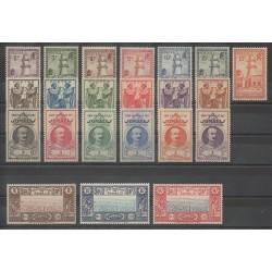 Côte des Somalis - 1938 - No 148/169