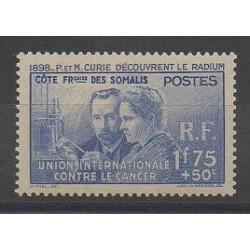 Côte des Somalis - 1938 - No 147 - Neuf avec charnière