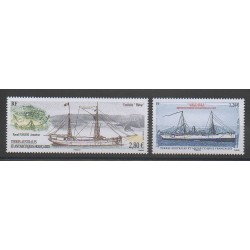French Southern and Antarctic Territories - 2016 - Nb 764/765 - Boats