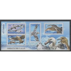 French Southern and Antarctic Lands - Blocks and sheets - 2016 - Nb F770 - Birds