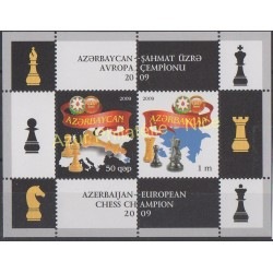 Azerbaijan - 2009 - Nb BF 80 - Chess