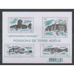 French Southern and Antarctic Lands - Blocks and sheets - 2016 - Nb F774 - Fishes