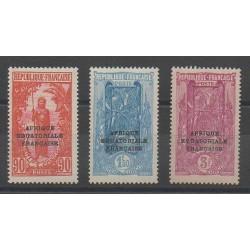 Congo - 1930 - No 106/108 - neuf avec charnière