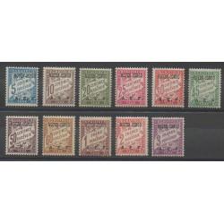 Congo - 1928 - No T1/T11 - Neuf avec charnière