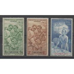 Cameroon - 1942 - Nb PA19/PA21
