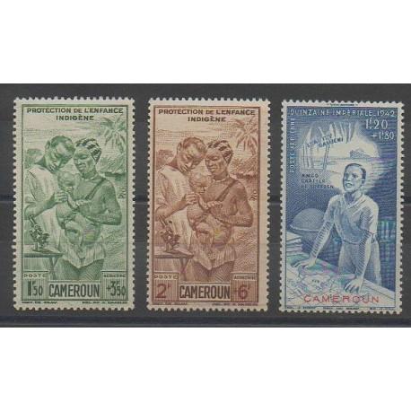 Cameroun - 1942 - No PA19/PA21