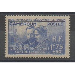 Cameroun - 1938 - No 159 - Neuf avec charnière