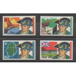 Niue - 1974 - Nb 149/152 - Boats