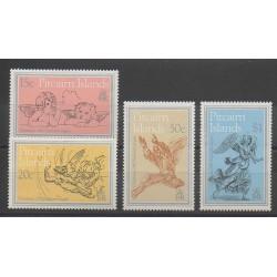 Pitcairn - 1982 - Nb 215/218 - Christmas