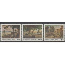 Singapour - 1976 - No 253/255 - Peinture