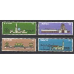 Singapour - 1978 - No 298/301 - Monuments