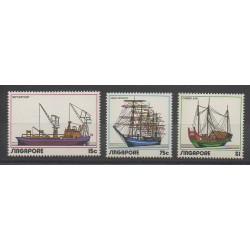 Singapore - 1972 - Nb 163/165 - Boats