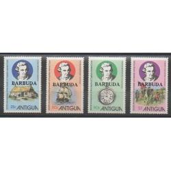 Barbuda - 1979 - No 445/448 - Bateaux