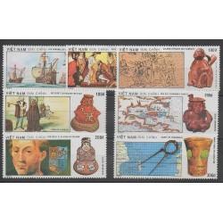 Vietnam - 1990 - No 1064/1070 - Christophe Colomb