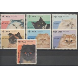 Vietnam - 1986 - No 684/690 - Chats