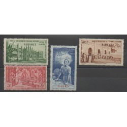 Dahomey - 1942 - Nb PA6/PA9