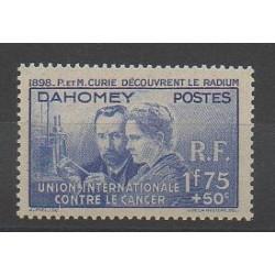 Dahomey - 1938 - No 109 - Neuf avec charnière