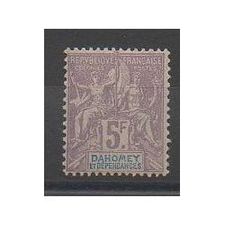 Dahomey - 1901 - No 17 - Neuf avec charnière