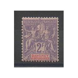 Dahomey - 1901 - No 16 - Neuf avec charnière