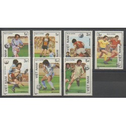 Vietnam - 1986 - No 670/676 - Coupe du monde de football