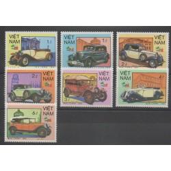Vietnam - 1985 - No 623/629 - Voitures