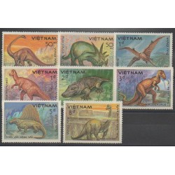 Vietnam - 1984 - No 527A/527H - Animaux