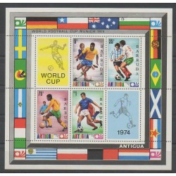 Barbuda - 1974 - No BF9 - Coupe du monde de football