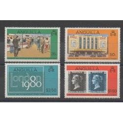 Anguilla - 1979 - No 338/341 - Timbres sur timbres