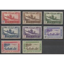 Côte d'Ivoire - 1942 - No PA10/PA17