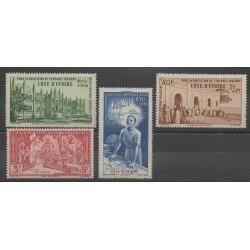 Ivory Coast - 1942 - Nb PA6/PA9