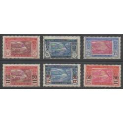 Ivory Coast - 1934 - Nb 104/108