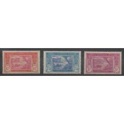 Côte d'Ivoire - 1930 - No 81/83 - Neuf avec charnière