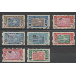 Côte d'Ivoire - 1924 - No 73/80