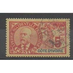Côte d'Ivoire - 1906 - No 35 - Oblitéré