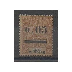 Côte d'Ivoire - 1904 - No 18 - Neuf avec charnière