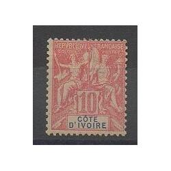 Côte d'Ivoire - 1900 - No 14 - Neuf avec charnière