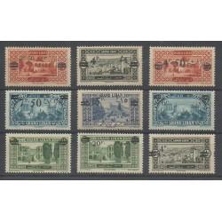 Greater Lebanon - 1926 - Nb 75/83