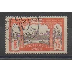Gabon - 1910 - No 45 - Oblitéré