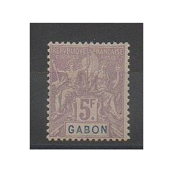 Gabon - 1904 - No 32 - Neuf avec charnière