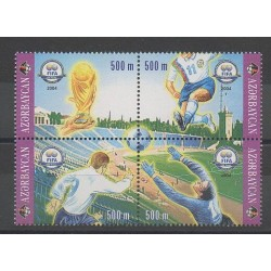 Azerbaijan - 2004 - Nb 496/499 - Football