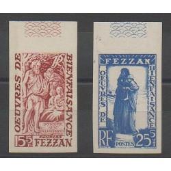 Fezzan - 1950 - No 54/55 ND