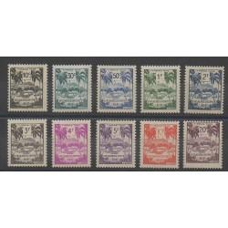 Guadeloupe - 1947 - No T41/T50