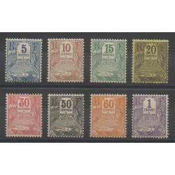 Guadeloupe - 1904 - No T15/T22 - Neuf avec charnière