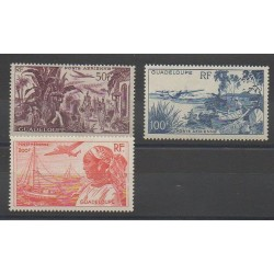 Guadeloupe - 1947 - Nb PA13/PA15