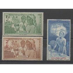 Guadeloupe - 1942 - Nb PA1/PA3